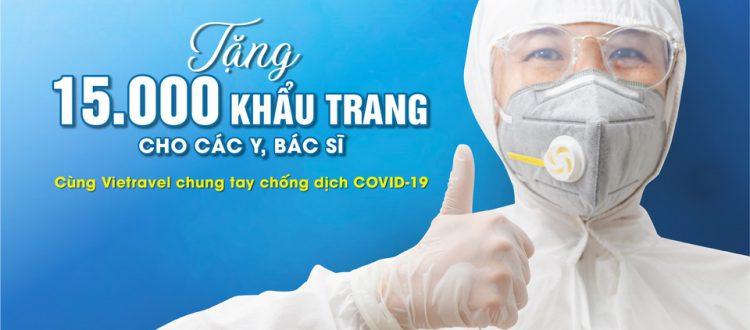 Vietravel tiếp lửa niềm tin 'Chung tay chống dịch COVID-19'