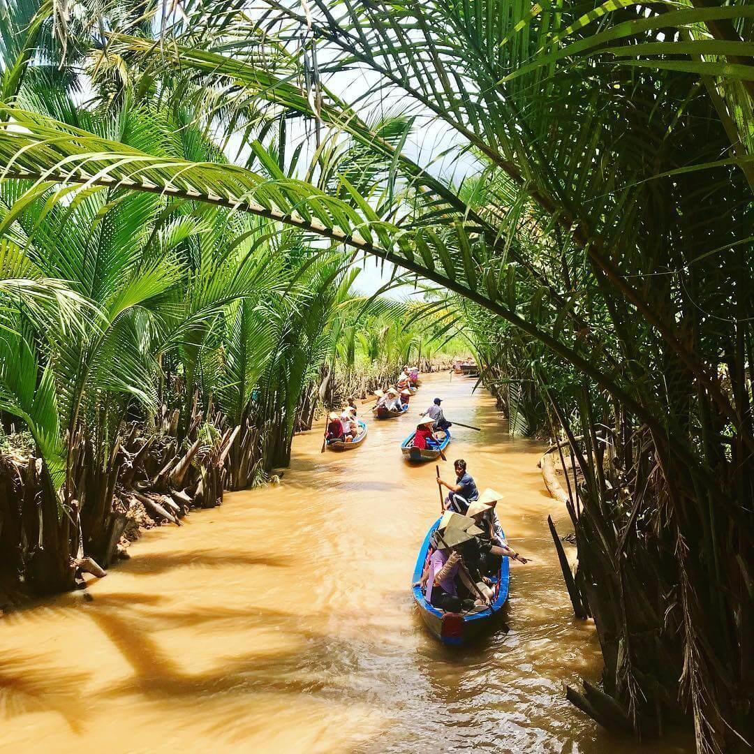 Cồn Phụng, điểm du lịch cuối tuần lý tưởng ngay cạnh Sài Gòn